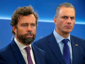Javier Ortega Smith e Iván Espinosa de los Monteros