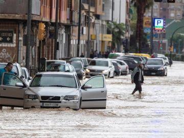 Inundaciones en Molina de Segura