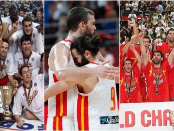 1999, 2019 y 2006, grandes éxitos del baloncesto español