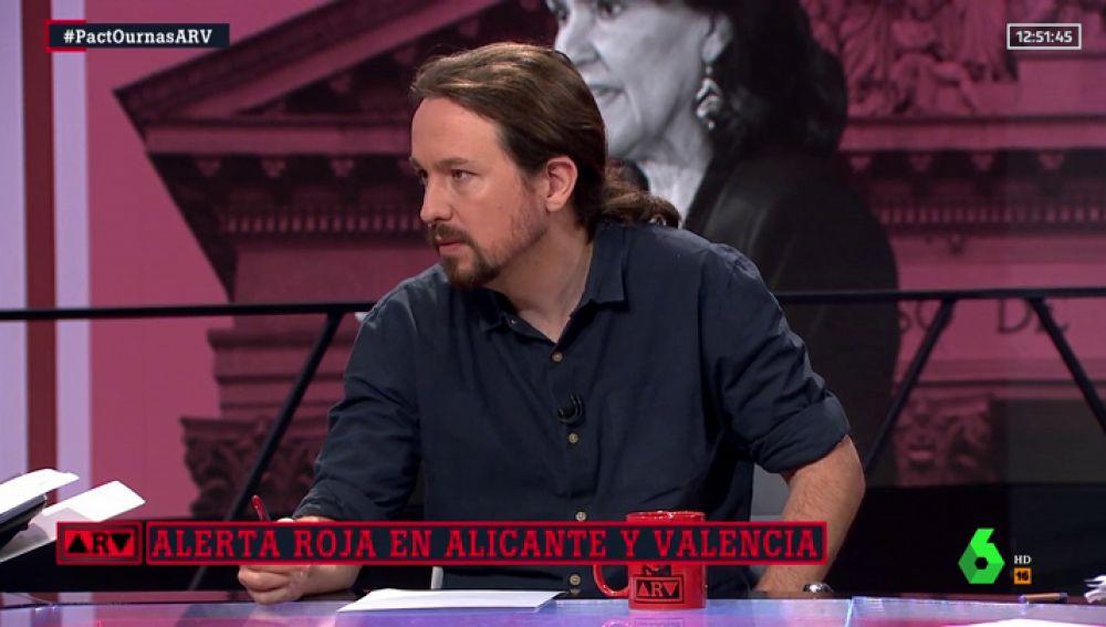 """Pablo Iglesias: """"Si no aceptan nuestra oferta, nos abstendremos"""""""