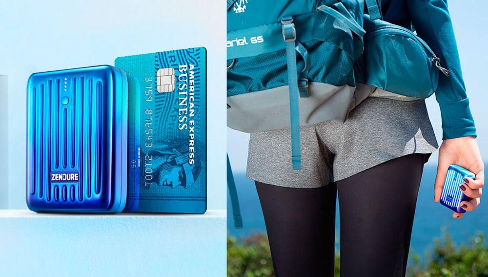 Esta batería es tan pequeña como una tarjeta de crédito y carga tu iPhone tres veces
