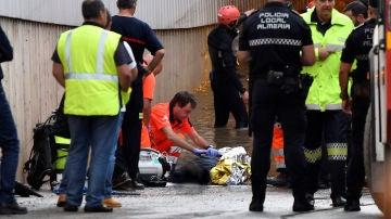 Gota fría: Un hombre muere ahogado en Almería tras quedar atrapado en su vehículo