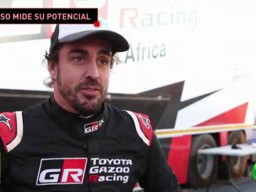"""Fernando Alonso, ante su primera vez en un rally: """"Va a ser interesante"""""""