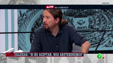 Iglesias pedirá al rey que haga de árbitro y medie para que Sánchez acepte la coalición