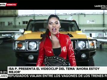 Isa P presenta el videoclip oficial del tema 'Ahora estoy mejor'