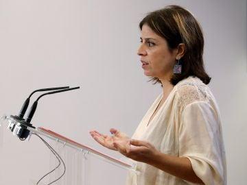 La portavoz socialista, Adriana Lastra