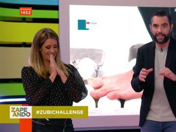 """Isabel Zubiaurre se enfrenta al 'Zubi Challenge' en Zapeando: """"Esta prueba puede acabar muy mal"""""""