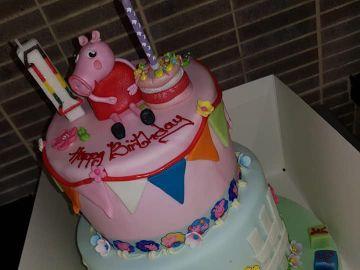 La tarta que el padre de la pequeña fallecida compró para otra niña