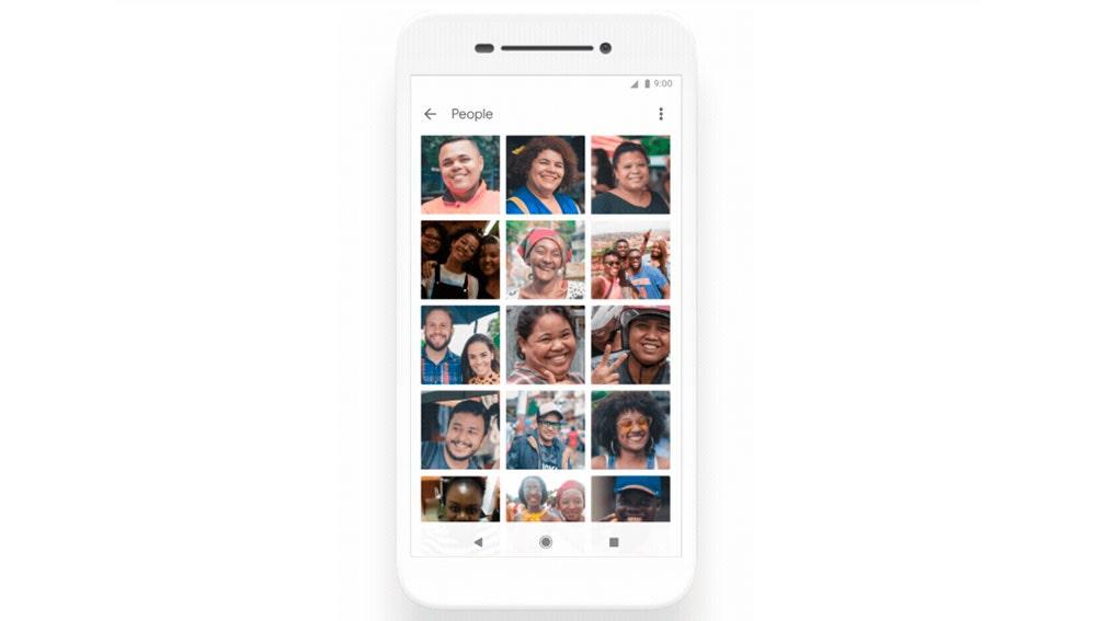 La nueva galería de Android 10 Go