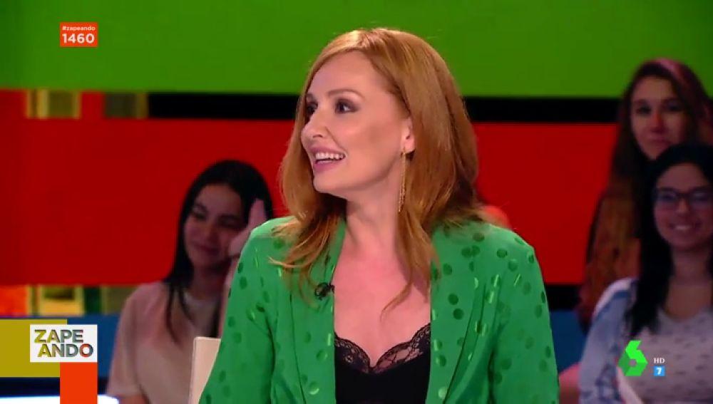 """El 'dardo' de Cristina Castaño a Dani Mateo nada más aparecer en Zapeando: """"Me esperaba otro presentador"""""""