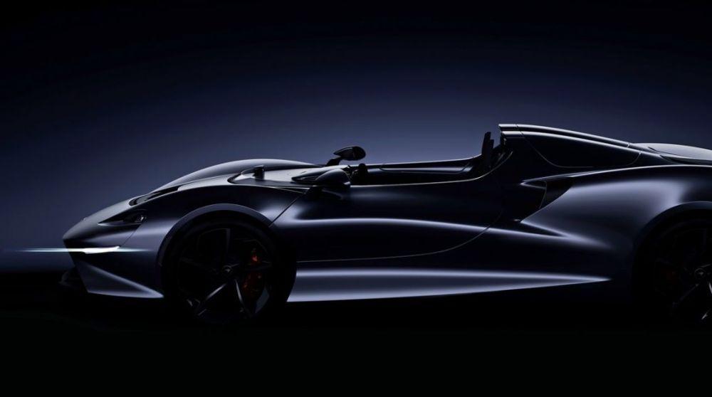 Teaser del futuro modelo de McLaren