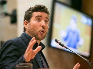 El secretario general de Podemos Aragón, Nacho Escartín.