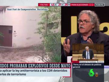 El exdiputado de ERC Joan Tardá
