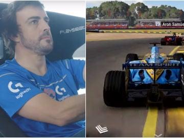 Compite contra Fernando Alonso en el videojuego 'GRID'