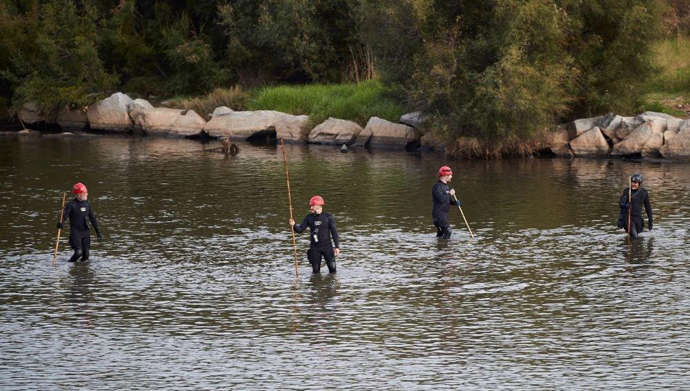 Búsqueda en el río Besòs