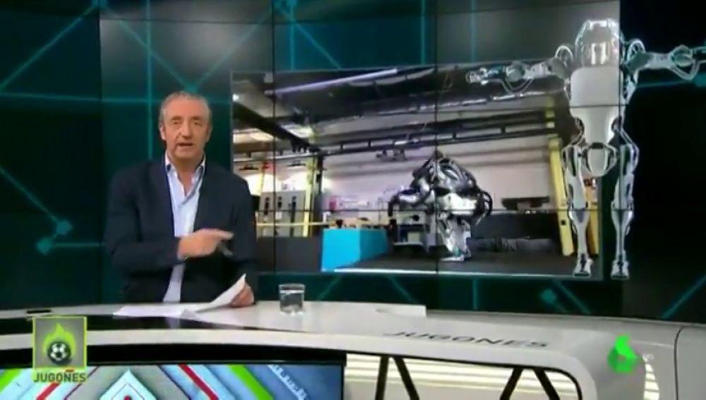 "Josep Pedrerol alucina con el robot gimnasta de Boston Dynamics: ""Me da bajón..."""