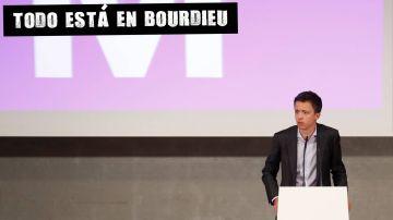 Íñigo Errejón durante la presentación de Más país