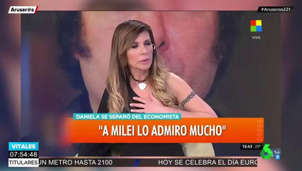 La cantante Daniela se desmayó y cayó al piso en Intrusos