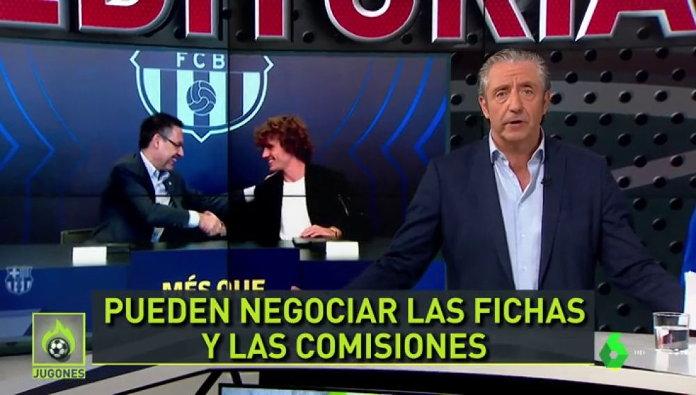 Sancionan al Barcelona con 300 euros por fichar a Griezmann