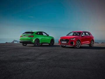 Audi RS Q3 y Audi RS Q3 Sportback