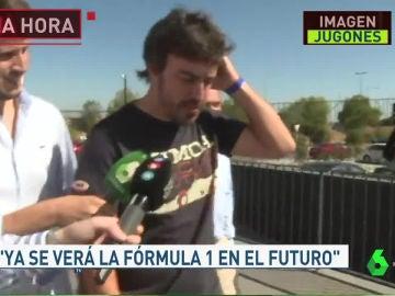 Fernando Alonso, en 'Jugones' sobre su regreso a la F1