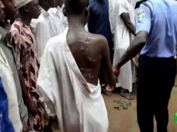 Liberan a 300 niños y jóvenes torturados en una escuela de Nigeria