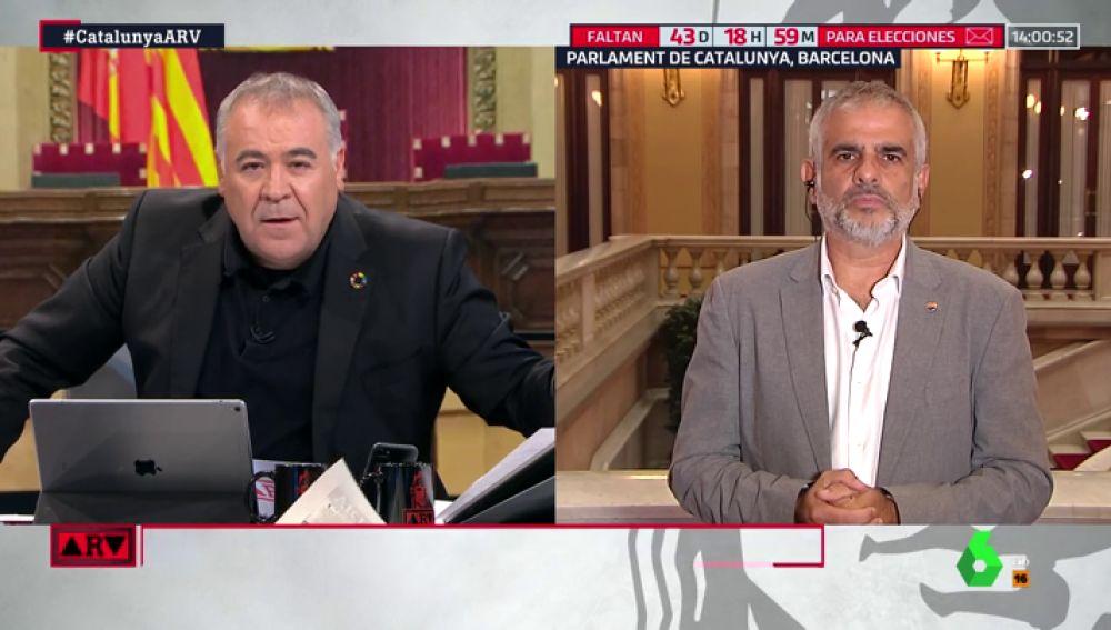 """Carlos Carrizosa: """"Los independentistas son seres de luz, cualquier detención es fruto de un montaje"""""""