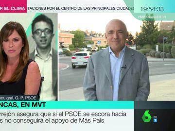 """Rafael Simancas, sobre las """"peleas"""" a la izquierda del PSOE: """"Parece Juego de Tronos con sus ambiciones y sus puñaladas traperas"""""""