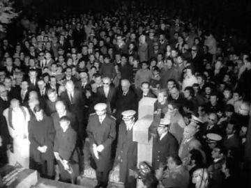 El 'Consejo de Ministros' de Mingorrubio: los altos cargos franquistas junto a los que descansará Franco