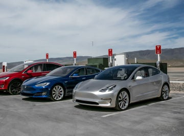 Tesla Model X, Model S y Model 3