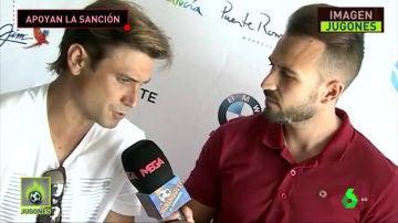 David Ferrer, con Fran Campos
