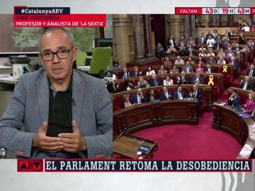 """El análisis de Joan Coscubiela: """"Ciudadanos vio que puede sacar rédito electoral de una radicalización del conflicto en Cataluña"""""""
