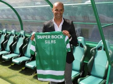 Jorge Silas, entrenador del Sporting