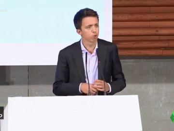Vídeo manipulado - Íñigo Errejón 'machaca' a Pablo Iglesias en su primer discurso como líder de Más País
