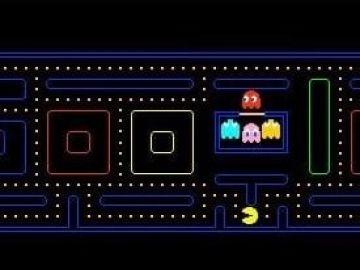 Google de Doodle sobre Pac Man