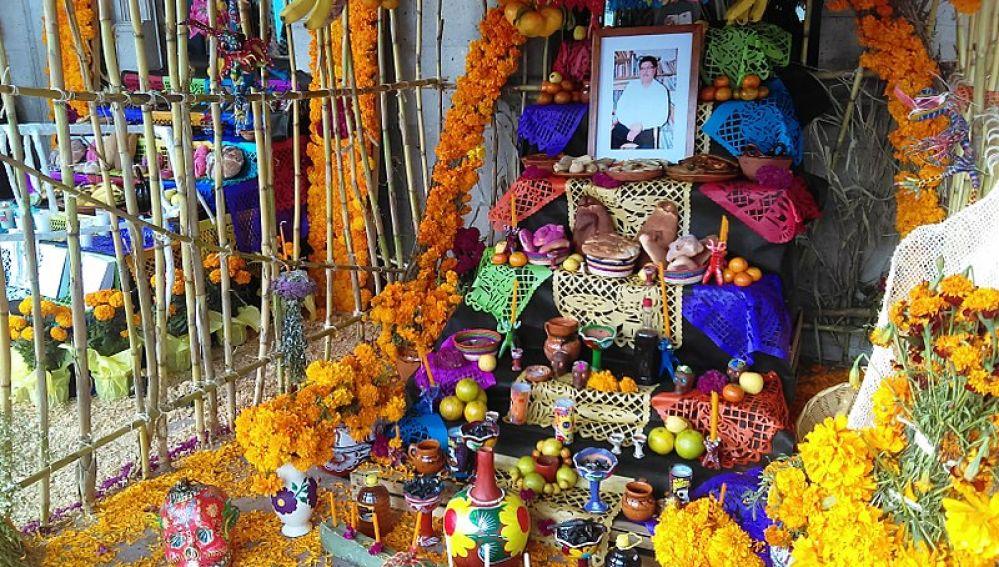 Altar día de los muertos