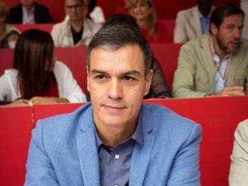El secretario general del PSOE, Pedro Sánchez