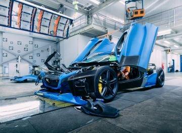 Rimac C_Two Crash Test 2019