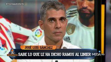 """El Chiringuito desvela que Ramos confesó en el vestuario que dijo """"la p*** que me parió"""" al árbitro"""