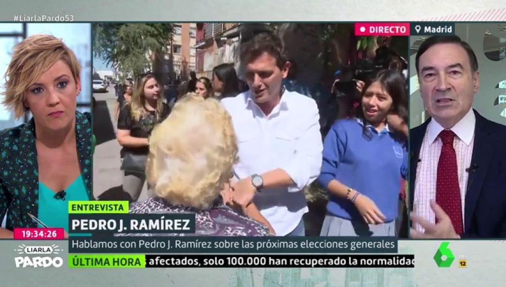 Pedro J. Ramírez, en Liarla Pardo