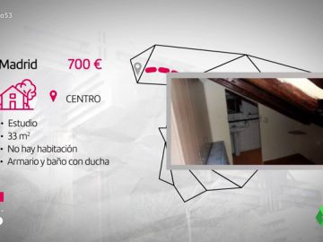 De Bilbao a Madrid o Barcelona: así son los pisos que podemos encontrar por 700 euros en los centros de nuestras ciudades