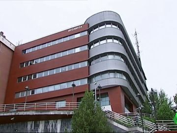 Imagen del edifico de la Ertzaintza