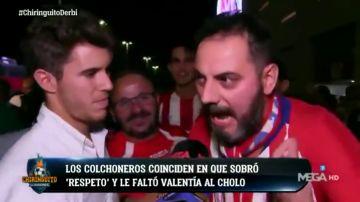 """Álex Silvestre recoge el cabreo de la afición del Atlético con Simeone: """"Treinta y tres años de socio... ¡estoy harto del Cholo!"""""""