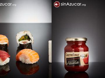 Productos con exceso de azúcar