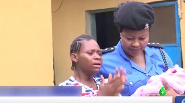 Liberan a 19 jóvenes víctimas de trata en una 'fábrica de bebés' en Nigeria