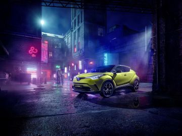 Toyota C-HR Wasabi Limited Edition