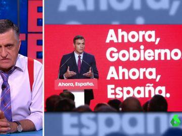 """Wyoming desvela la técnica infalible del PSOE para su lema de campaña: """"No es el primero en usarla"""""""