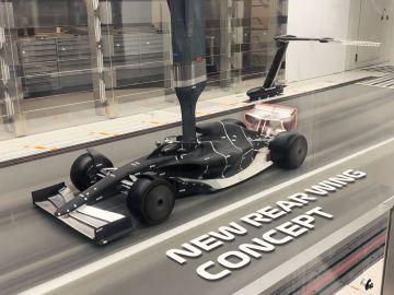 El prototipo del monoplaza de la Fórmula 1 en 2021