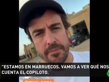 Fernando Alonso, ante su prueba definitiva para saber si va o no al Dakar