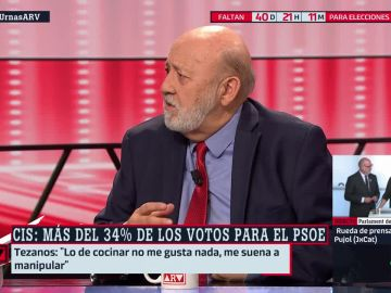 José Félix Tezanos, presidente del CIS